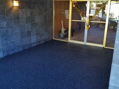 We resurface entrance ways to apartment buildings.