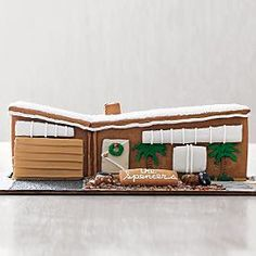 dessert girl: Mid-Century Gingerbread House