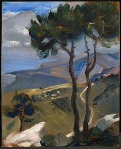 A Passage to Lebanon - Omar Onsi His Travel, Fine Art Photography, Impressionist, Printmaking, Islamic, Modern Art, 21st, Trees, Artists