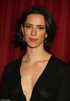 Dazzling: Rebecca Hall, who plays the title role in the movie, was undoubtedly determined to stand out as she attended a screening and Q&A session for the biopic in her native London on Tuesday evening, on the arm of her husband Morgan Spector Rebecca Hall, Taurus, Le Jolie, Actors & Actresses, Female Actresses, Beautiful Actresses, Bellisima, Movie Stars, Hair Beauty