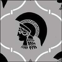 The Athena Repeat stencil - price £17.25