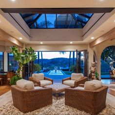 Great indoor/outdoor living at this amazing Westlake Village Estate. Over 10,000 square foot single story on 3 acres with panoramic views. Private tennis court and located in Guard gated community. $8,500,000. Listed by one of the nations top luxury realtors @jordancohen1. Follow @jordancohen1 for premier listings.