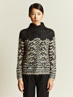Dries Van Noten Women's Mix Up Sweater