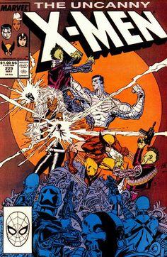 Uncanny X-Men # 229 by Marc Silvestri & Dan Green