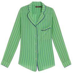 Camisa vintage listras » Tendência: Seda