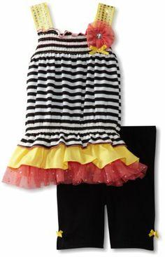 Little Lass Girls 2-6X 2PC Bike Short Set With Stripes, Yellow, 6 Little Lass,http://www.amazon.com/dp/B00BF9QSJC/ref=cm_sw_r_pi_dp_5xgItb0CFH9WGF3Q