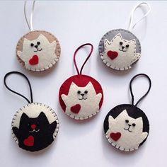 Kedicikler &aksesuar Whatsapp 0545 839 41 10 #cats#kedi#keyring#anahtarlık#aksesuar#accessory#cute#şirin#keçe#felt#hediyelik#gift#handmade#yeniyılhediyesi#yılbaşı