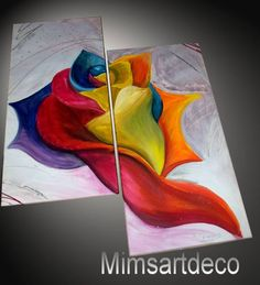 Flocolors Oeuvre D'art, Decoration, Abstract, Artwork, Modern Paintings, Wall Art, Decor, Summary, Work Of Art