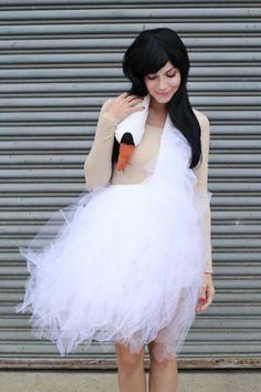 Bjork Swan Dress - 15 Innovative DIY Fashion Projects