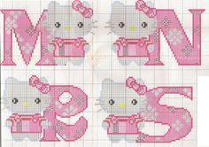 Hello Kitty MNRS pattern by ♥ Korsstygns-Arkivet ♥