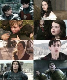 The Chronicles of Narnia<<<< I get this ache in my heart every time I remember Narnia. Not a day goes by that I don't miss our time there. << It hurts so much. Lucy Pevensie, Peter Pevensie, Susan Pevensie, Edmund Pevensie, Narnia Cast, Narnia 3, Movies Showing, Movies And Tv Shows, Narnia Movies