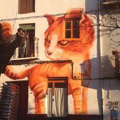 Street Art in Granada - by @brunside8420