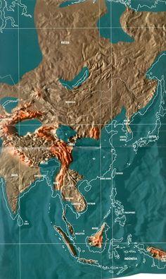 Bản đồ trái đất tương lai | Sự chuyển đổi Trái đất