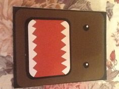 Domo  birthday card