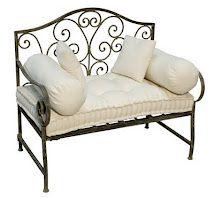sillón de hierro