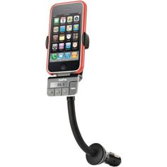 Griffin Road Trip Charger for iPhone and iPod by Griffin Technology. $53.69. RoadTrip holds your iPhone or iPod securely in place on a flexible steel neck, in a cleverly-designed cradle that accommodates most cases (so you won't even have to take it out of its case). RoadTrip uses a powerful FM transmitter to send the music wirelessly to your car's FM radio, so you and the whole car can enjoy it through your stereo speakers. And while you're enjoying the music, your iPhone or...