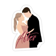 After Movie Poster Sticker by call-me-margo