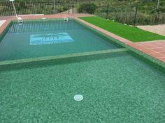 La piscina de electrolisis salina pronto estará disponible. Baseball Field, Outdoor Decor, Energy Conservation, Boiler, Swimming Pools, Budget, Photos, Baseball Park