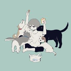 "Always happen :"") Art And Illustration, Dark Art Illustrations, Aesthetic Art, Aesthetic Anime, Witcher Wallpaper, Chibi, Character Art, Character Design, Art Mignon"