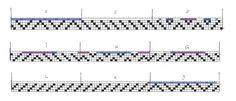 marchures sergé 1-2 , 2-3 , 3-4 , 4-1 , 3-4 , 2-3 tissage sergé :1-2 , 2-3 , 3-4 , 4-1 , 3-4 , 2-3 Le m... Weaving Patterns, Couture, Loom, Patrones, Tableware, Fabrics, Towels, Projects, Bricolage