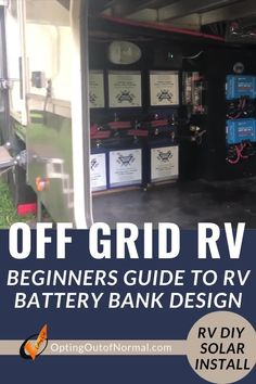 Are you trying to build a battery bank to fit your needs? Do you still find it confusing when thinking about what your RV power system needs may be? I am going to give a detailed walkthrough of our system showing what we have in use for our system. If you are planning to live full time in your RV, and you want to do some dry camping or boondocking, we'll share our tips and hacks in easy to understand language. RV solar for your motorhome, 5th wheel or travel trailer is easier than you think… Travel Trailer Camping, Rv Travel, Rv Camping, Rv Battery, 5th Wheel Rv, Rv Truck, Rv Mods, Used Rv, Rv Organization