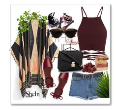 """SheIn"" by beauty-dcccv ❤ liked on Polyvore featuring Avon, Tory Burch and RetroSuperFuture"