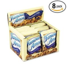 I'm learning all about Kellogg's 98067 Famous Amos Cookies Chocolate Chip Snack Pack Box at @Influenster! @KelloggsUS