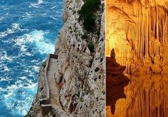 Places our Travel Club has been... Neptune's Grotto, Sardinia, Italy.