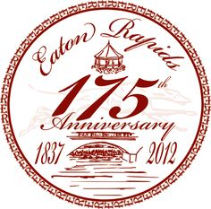 175th logo for the city of Eaton Rapids