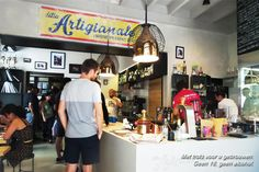 Ditta Artigianale is the first coffee bar in Florence that is fully dedicated to making the best coffees.