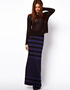 Maxi Tube with Variagated Stripe at ASOS