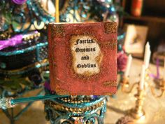 Enchanted Miniature Faeries Gnomes and by EnchantedFairyDreams, $17.00