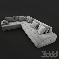 Corner sofa Corner Sofa Design, Sofa Bed Design, Living Room Sofa Design, Living Room Designs, Sakura House, L Shaped Sofa Designs, Sofa Drawing, My Furniture, Sectional Sofa