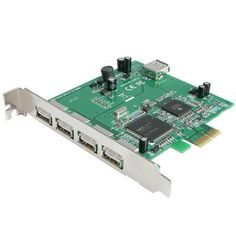 5 Port Pcie USB Adapter Card