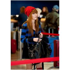 Bella Thorne at LAX ❤ liked on Polyvore