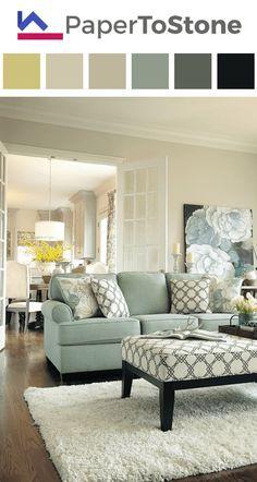 living room color palette amber black dark grayish cyan dark grayish - Cyan Living Room Decor