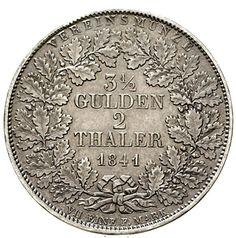 Double taler 1841. rifleman 57, Thun 24, picture postcards 88. good very fine, slight margin fault