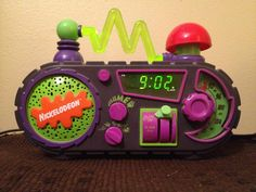 Alarm clock from Alarm Clock, Nostalgia, Childhood, Projection Alarm Clock, Infancy, Alarm Clocks