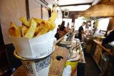 Pomme Frites will be opening in its new Greenwich Village location this spring. A restaurateur rebuilds after a deadly explosion wiped out her business.