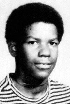 Denzel Washington. Before fame shined on him.