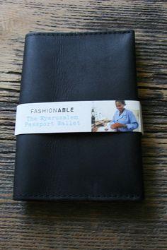 Eyerusalem Passport Wallet in Black via @day22boutique