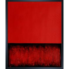 Rothko - Untitled (Red and Black)