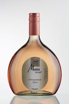 Bocksbeutel Rotling. FRANKEN. Weingut Martin. Homburg am Main. www.weingut-martin.de   kein Rose