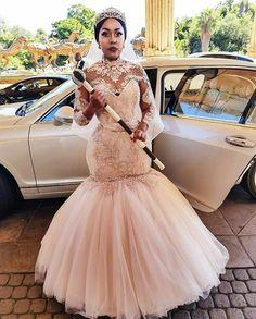 African Wedding Attire, African Weddings, African Attire, African Fashion Dresses, African Dress, Couture Wedding Gowns, Sexy Wedding Dresses, Designer Wedding Dresses, Bridal Dresses