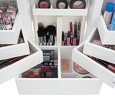 Makeup By RenRen: Makeup Storage & Organization: Lori Greiner Deluxe…