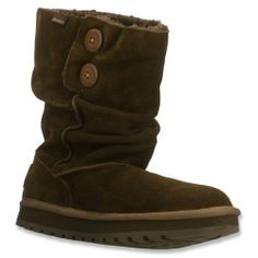 Women/'s Skechers Keepsakes-Freezing Temps Boots Chocolate  6.5