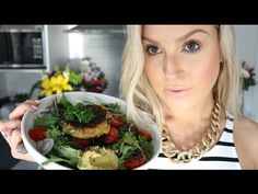 Cooking ♡ Kumara Cake Salad! ♡ Shaaanxo 4 Eggs, Seperated 2 C Kumara 1 C Flour (I use Coconut, you can use anything you have) 1/2 t Salt 1 + 1/2 t Baking Powder 1 C Coconut Milk 3 Spring Onions 2 T Parsley