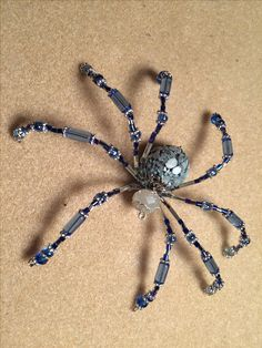 Beaded Spider                                                                                                                                                                                 More