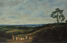Civilized Indians in a Brazilian Landscape Painting by Frans Post 1659 http://ift.tt/2xqh0VC