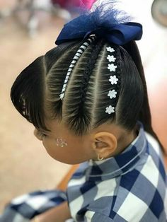 Baddie Hairstyles, Boy Hairstyles, Little Girl Hairstyles, Braided Hairstyles, Cool Hair Designs, Girl Hair Dos, Lace Front, Chignon Hair, Honey Hair